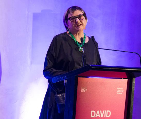 Sally Gray as advocate